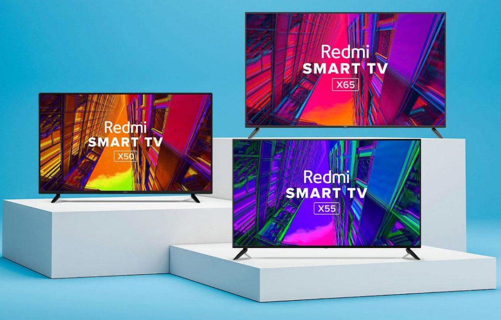 رونمایی ردمی از سه تلویزیون Smart TV X50, X55 و X65
