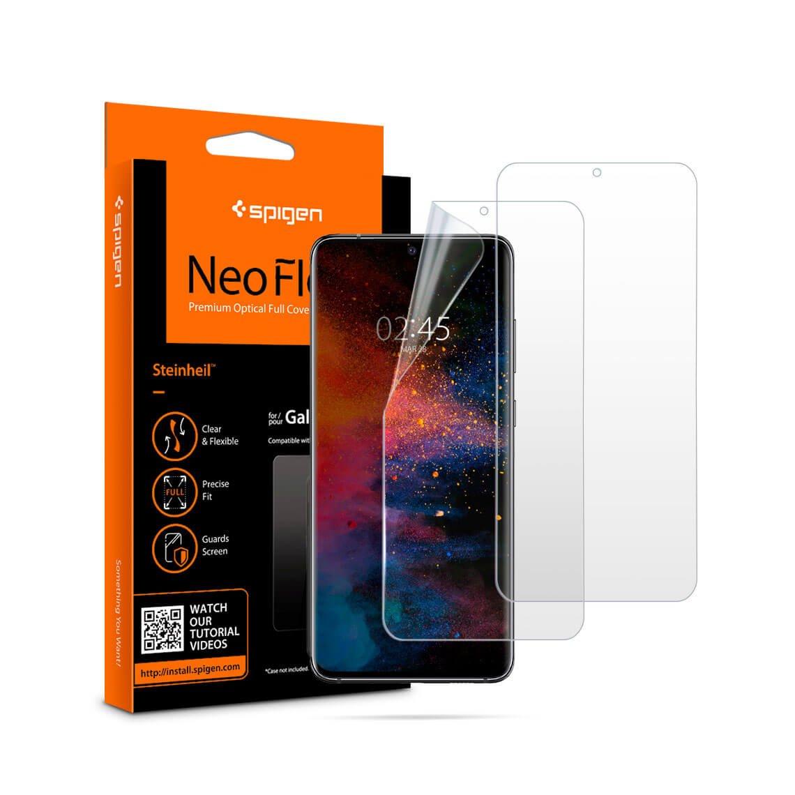 محافظ صفحه اسپیگن Neo Flex HD سامسونگ S20+ (2Pack)