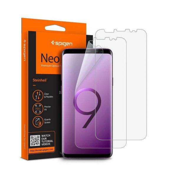 محافظ LCD اسپيگن Neo Flex HD سامسونگ +S9