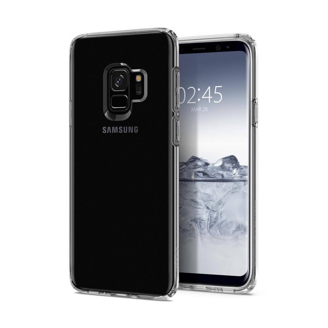 کاور اسپیگن مدل Liquid Crystal سامسونگ Galaxy S9