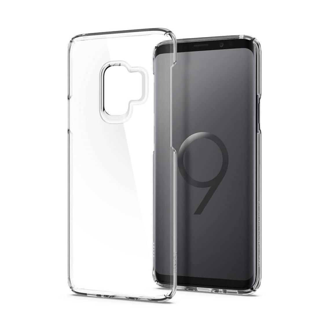 کاور اسپیگن مدل Thin Fit Crystal سامسونگ S9