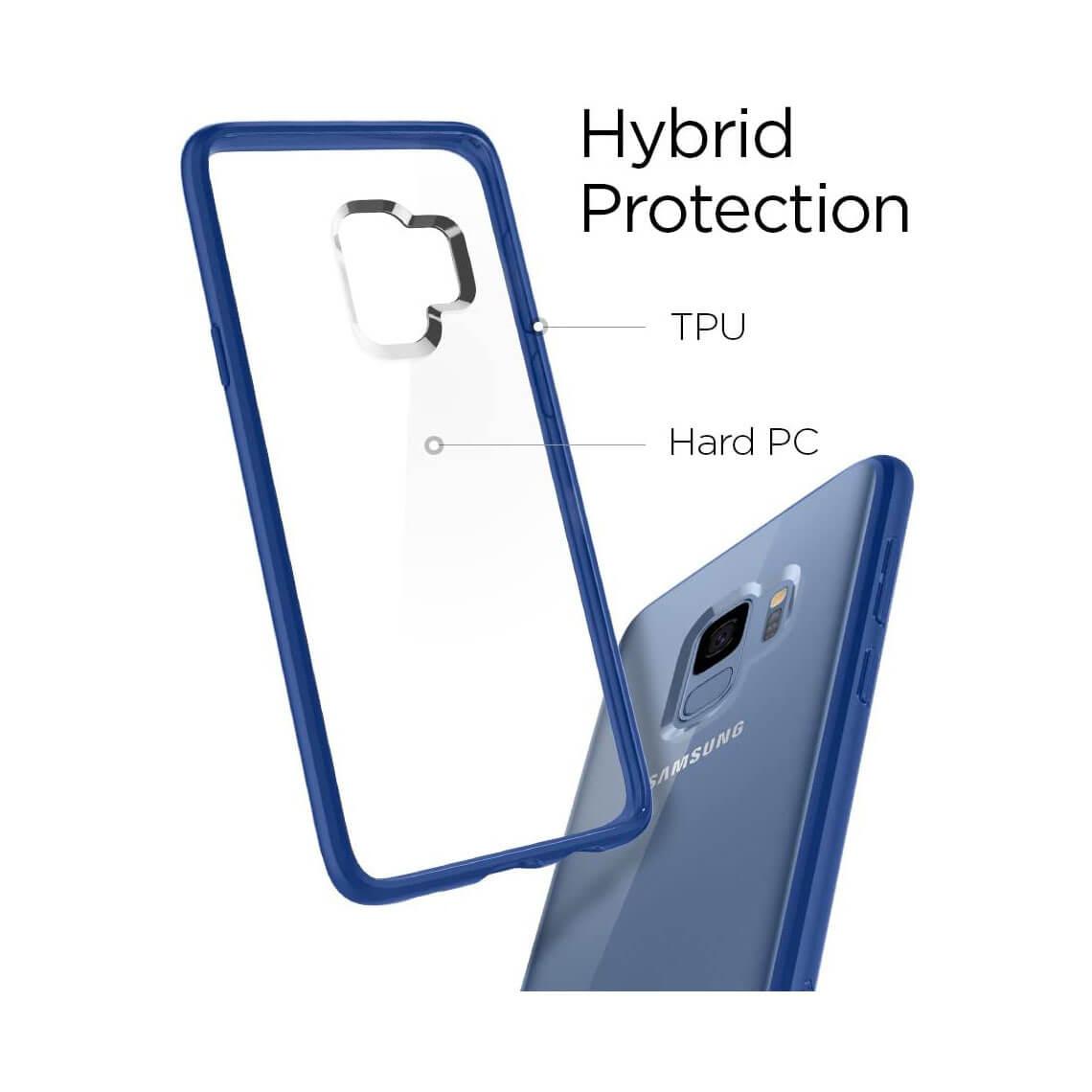 کاور اسپیگن مدل Ultra Hybrid سامسونگ S9
