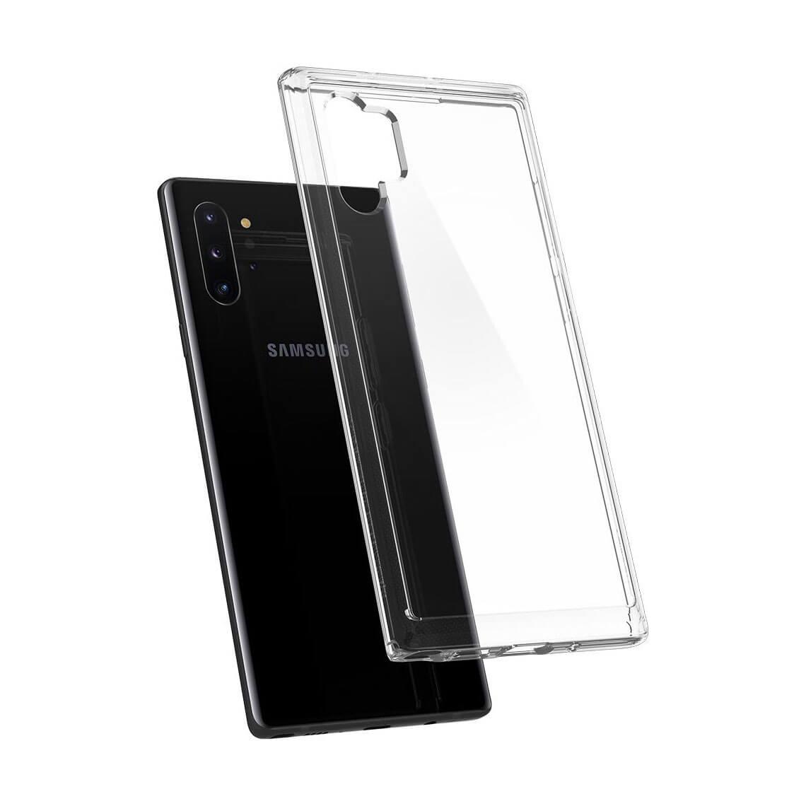 کاور اسپیگن Crystal Hybrid سامسونگ Note 10 Plus