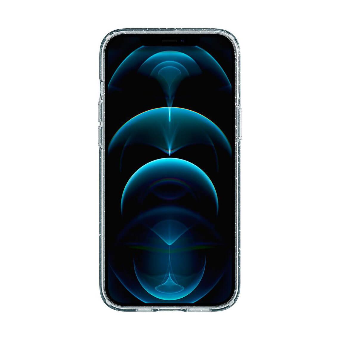 کاور اسپیگن Liquid Crystal Glitter آیفون 12Pro Max