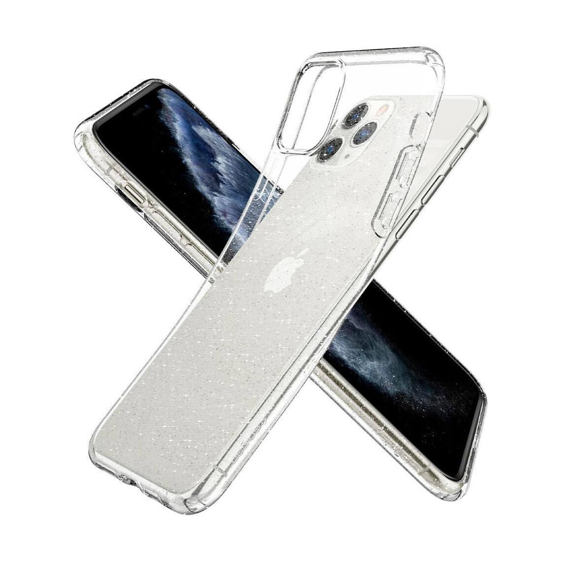 کاور اسپیگن Liquid Crystal Glitter آیفون 11 Pro Max