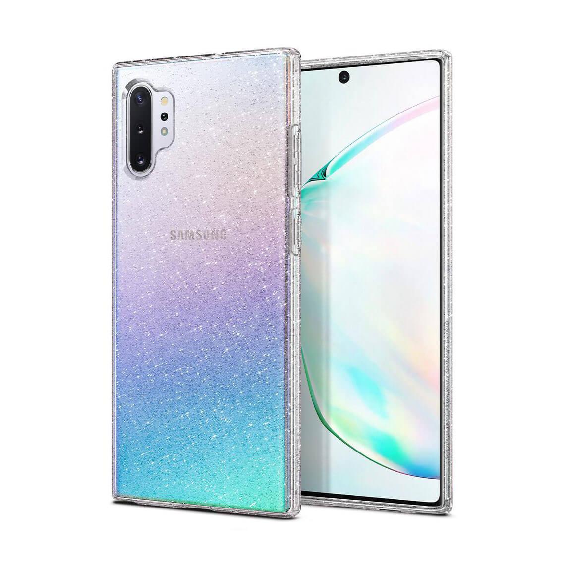 کاور اسپیگن Liquid Crystal Glitter سامسونگ Note 10+
