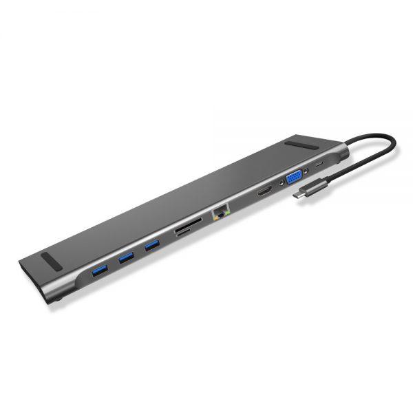 هاب 10 پورت USB-C جی سی پال سری Linx مدل JCP6204