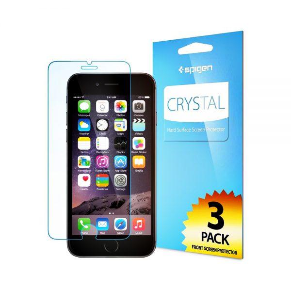 محافظ LCD اسپیگن Crystal آیفون 6 plus