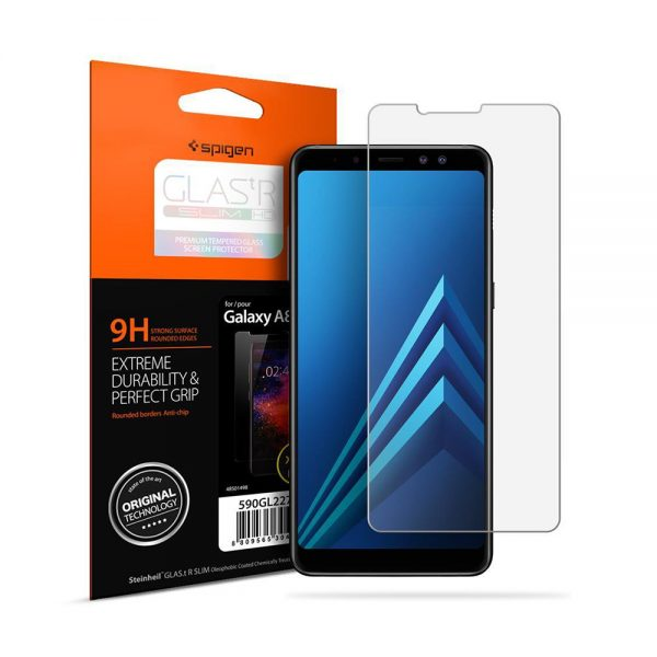 گلس اسپيگن مدل SLIM HD سامسونگ Galaxy A8