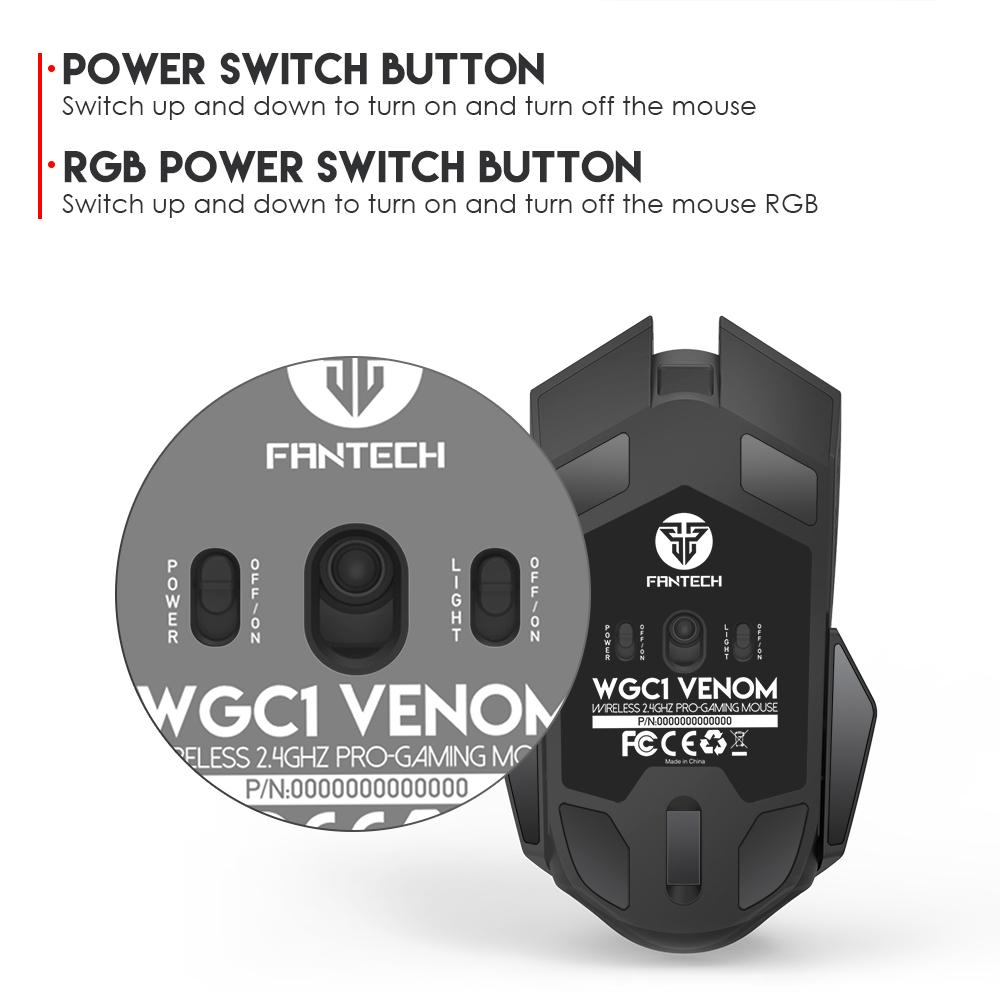 ماوس فنتک مدل VENOM WGC1