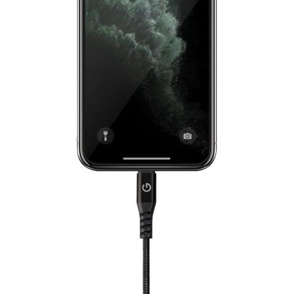 کابل USB به Lightning انرژیا مدل AluTough برای آیفون و آیپد