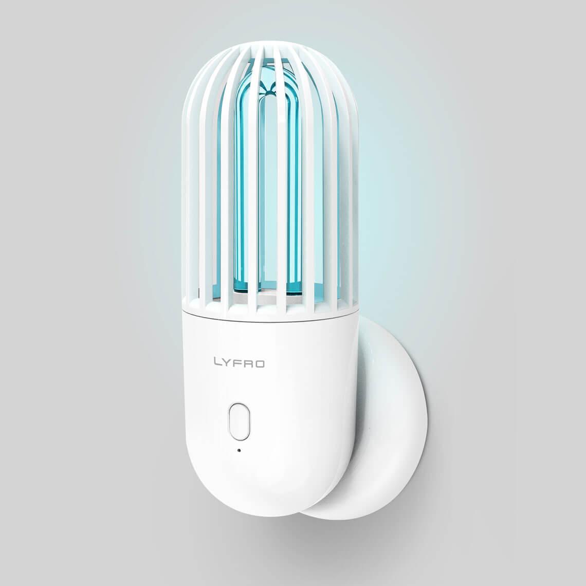 لامپ ضد عفونی کننده اوزون و UVC یونیک مدل Lyfro Hova