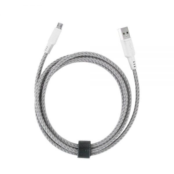 کابل تبدیل USB به micro-USB انرژیا مدل NyloTough طول 1.5 متر