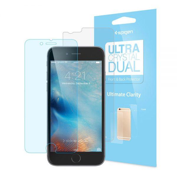 محافظ LCD اسپيگن Ultra Crystal Dual آیفون 6/6s