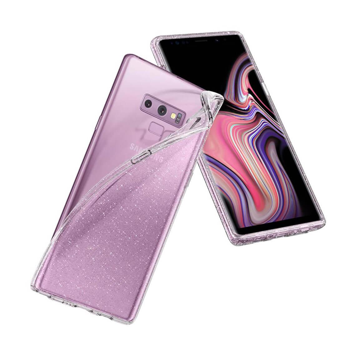 کاور اسپیگن مدل Liquid Crystal Glitter سامسونگ Galaxy Note 9