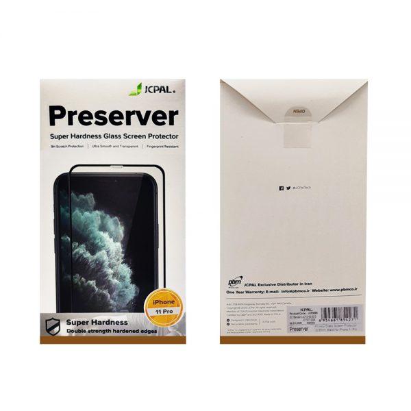 محافظ صفحه نمایش JCPAL مدل Preserver-Privacy مناسب برای iPhone 11 Pro