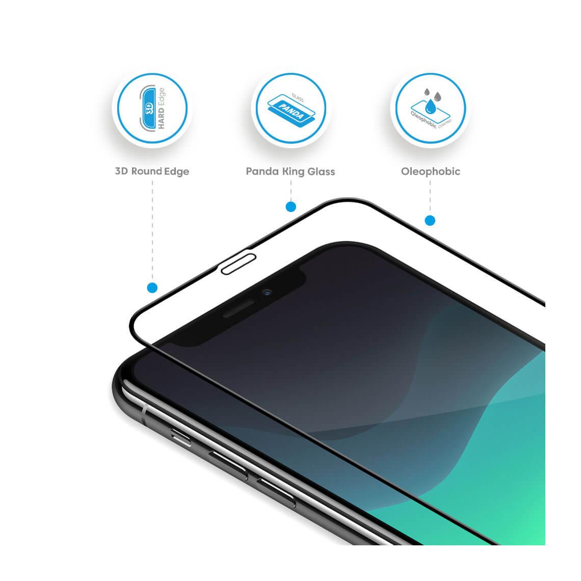 محافظ صفحه نمایش بلینکس Lumino 3D برای iPhone 11 Pro Max