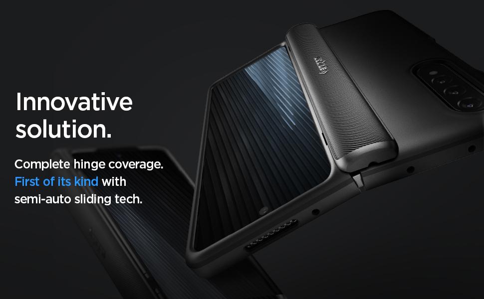 کاور اسپیگن مدل Slim Armor Pro مناسب برای Galaxy Z Fold 3